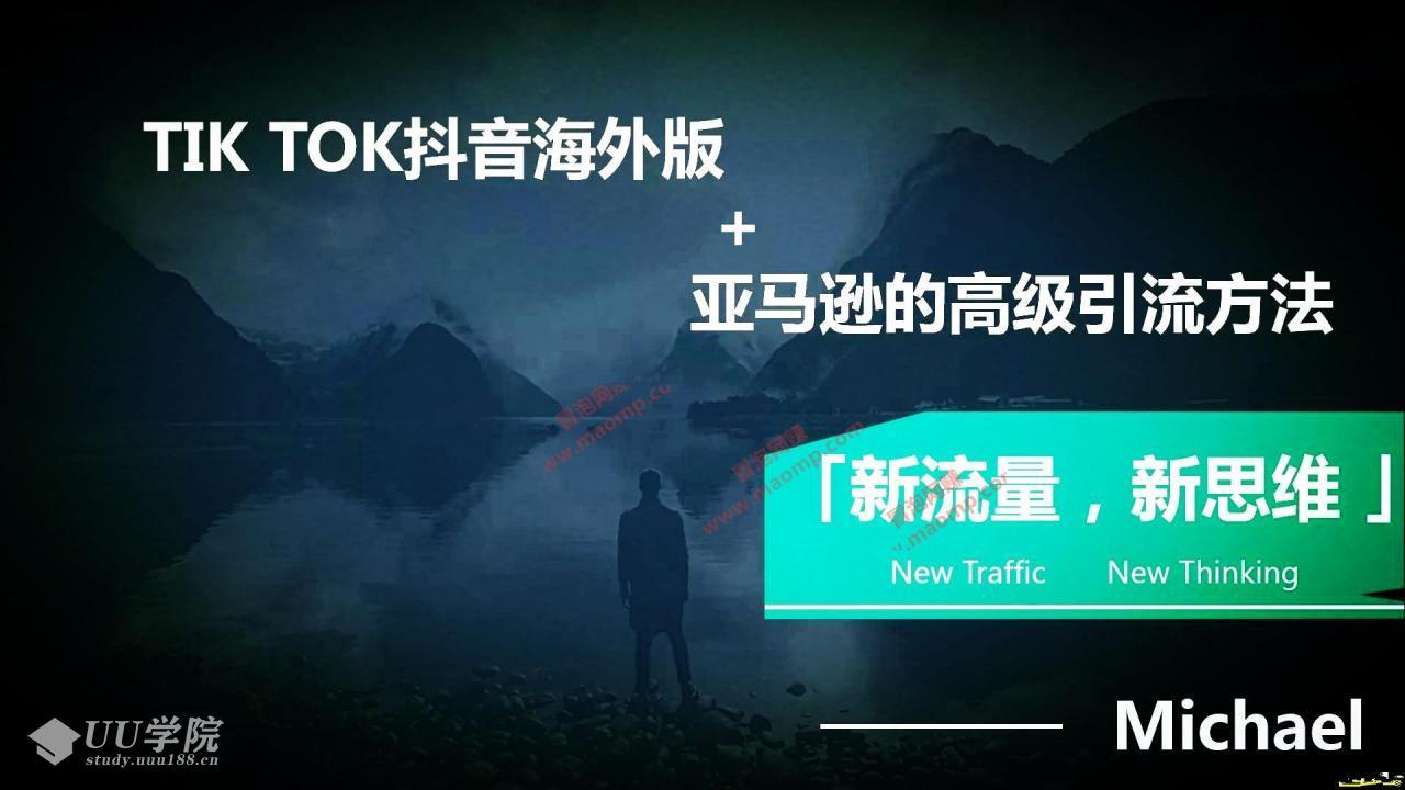 海外TikTok+亚马逊实战训练营'