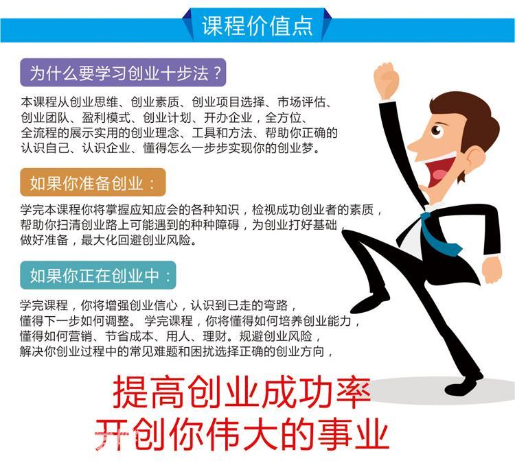 创业十步法-创业成功的秘诀