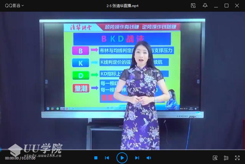 【股票】张清华20210205直播课-BKD战法