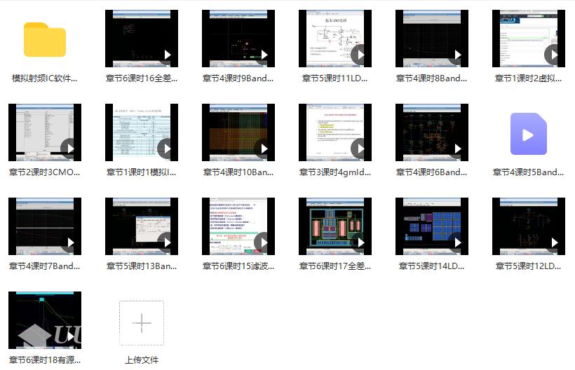 模拟IC设计进阶实践课程