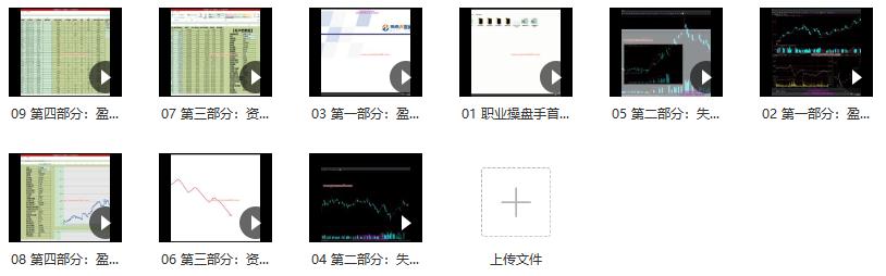 海桑 陈金辉最新年《职业操盘手 全年交易揭秘》期货课程