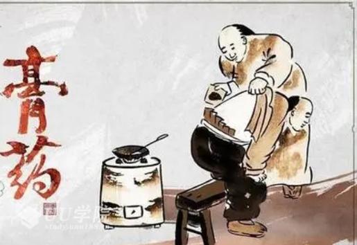 中医视频治疗颈、肩、腰腿痛胃痛、肩周炎和落枕痛等膏药熬制及其制备方...