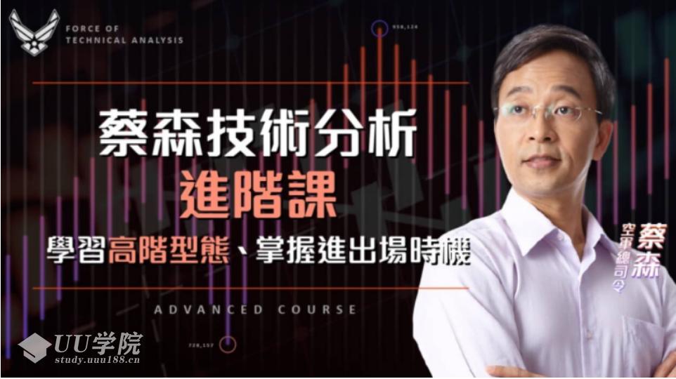 【股票】蔡森技术分析入门与进阶课:学习高阶型态,掌握进出场时机