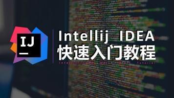 intellij idea视频教程 共12课信任入门学习编程讲解(视频教程)