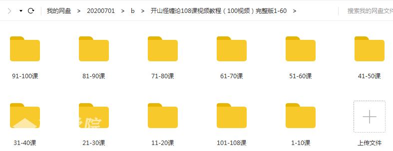 【股票】读缠论108课视频教程完整版