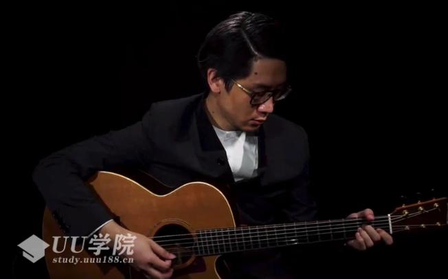 新手指弹吉他视频教学教程